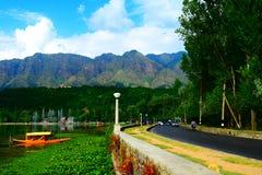 Lago Kashmir Dal fotografia de stock royalty free