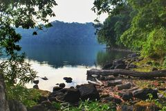 Lago Kastoba foto de stock royalty free
