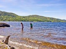 Lago Katrine Fotografía de archivo
