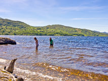 Lago Katrine Fotografia Stock