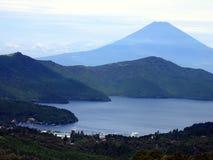 Lago Kawaguchiko Imagens de Stock