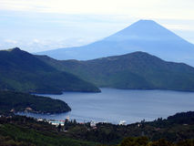 Lago Kawaguchiko Immagini Stock