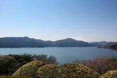 Lago Kawaguchiko Fotografia Stock