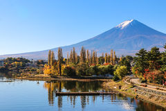 Lago Kawaguchiko Imagenes de archivo