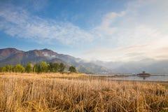 Lago Kawaguchiko Imagem de Stock Royalty Free