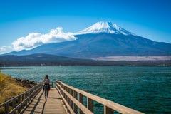 Lago Kawakuchigo, Giappone Immagini Stock