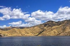 Lago Kaweah, Tulare, California immagine stock