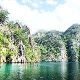 Lago Kayangan Fotos de Stock