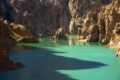 Lago Kel-Su Foto de archivo libre de regalías