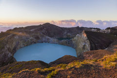 Lago Kelimutu Fotos de Stock Royalty Free