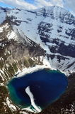 Lago Kennedy. Parque nacional de geleira Fotos de Stock