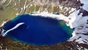 Lago Kennedy. Parque nacional de glaciar Foto de archivo libre de regalías