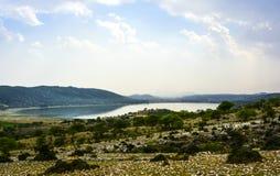 Lago Khabeki Immagini Stock