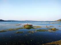 Lago Khadakwasla fotografia stock libera da diritti