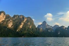 Lago Khao Sok Imágenes de archivo libres de regalías