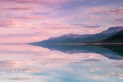 Lago Khovsgol Khovsgol Dalai, Mongólia do norte imagens de stock