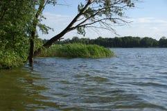 Lago Kiekrz immagini stock libere da diritti