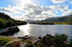 Lago Killarney sob o luminoso (Irlanda) Foto de Stock