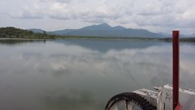 Lago Kimbulwana in Sri Lanka Immagine Stock