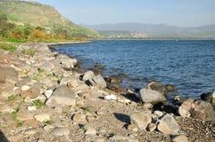 Lago Kinneret. Imagens de Stock