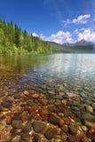 Lago Kintla - parque da geleira Imagem de Stock Royalty Free