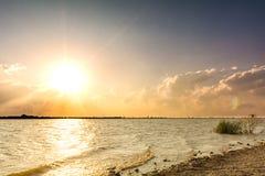 Lago Kirby Sunset Imagen de archivo libre de regalías