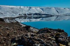 Lago Klefarvatn Imagenes de archivo
