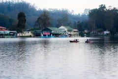 Lago Kodaikanal Fotografie Stock Libere da Diritti