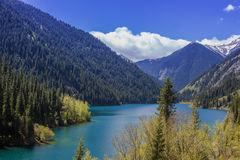 Lago Kolsay Foto de archivo libre de regalías