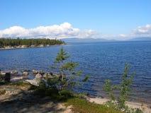 Lago Kolvitskoe Fotografia Stock