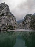 Lago Komani foto de stock royalty free