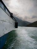Lago Komani fotografia de stock