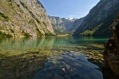 Lago Konigssee Fotografia Stock Libera da Diritti