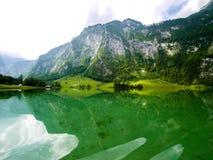 Lago Konigssee, Baviera Germania fotografia stock libera da diritti