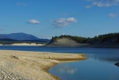 Lago Koocanusa, Montana Foto de archivo libre de regalías