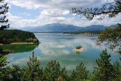 Lago Koprinka Immagine Stock Libera da Diritti