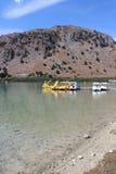 Lago Kournas Imagen de archivo