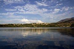 Lago Kournas Fotografia de Stock Royalty Free