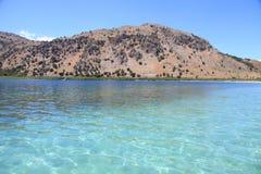 Lago Kournas, Crete, Grecia imagen de archivo