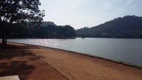 Lago Kurunegala em Sri Lanka fotos de stock