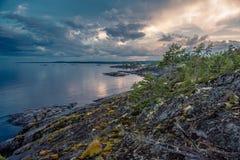 Lago ladoga Fotografia Stock