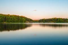 Lago ladoga Immagine Stock