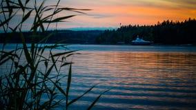 Lago Ladoga Fotografia Stock Libera da Diritti