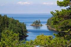 Lago ladoga Imagenes de archivo
