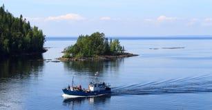 Lago ladoga Imagen de archivo
