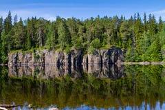 Lago ladoga Imágenes de archivo libres de regalías