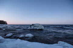 Lago Ladoga imagens de stock royalty free