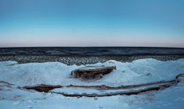 Lago Ladoga foto de stock