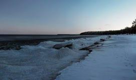 Lago Ladoga Fotografia de Stock