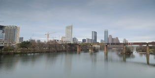 Lago lady Bird e Austin Texas do centro Fotografia de Stock Royalty Free